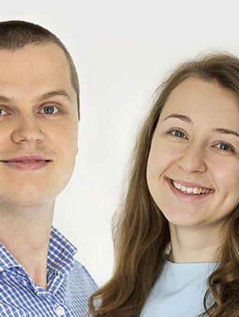 Helena & Vladi Headshots